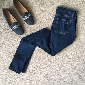 Rag & bone 10 inch skinny high rise jeans size 27